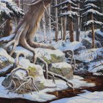 Hyperréalisme campagnard et forestier