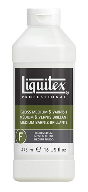 Medium et vernis brillant Liquitex