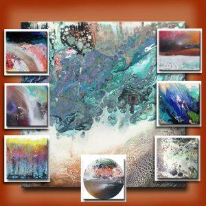 Peinture fluide - Richard Fulham