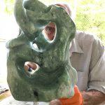 Sculpture sur pierre - Eugène Jankowski