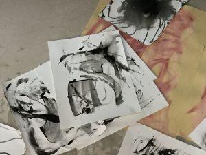 Gestuelle abstraite - Janick Ericksen