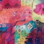 Peinture sur tissu - Erika Eggena