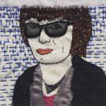 Portrait brodé - Tamara Rubilar