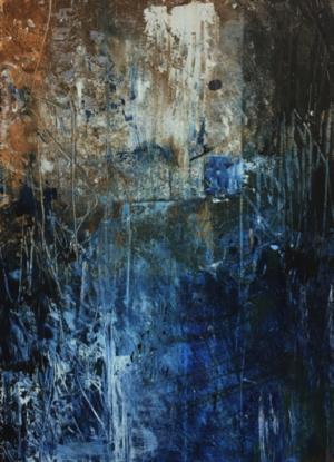 Cire froide et huile - Lucie Michel