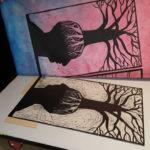 Techniques mixtes en gravure - Adeline Rognon