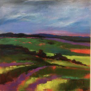 Paysages simplifiés et colorés - Lucie Michel